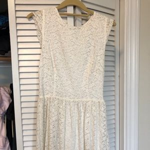 Aritzia lace dress